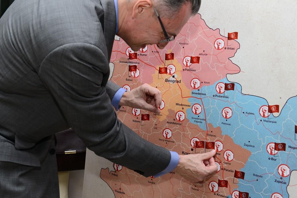 b92 mapa srbije beograd Uručena oprema porodilištu u Jagodini | Fond B92 b92 mapa srbije beograd